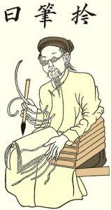 Hình 73: Ông Đồ Nho viết chữ